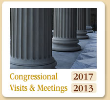 Congressional Visits and Meetings