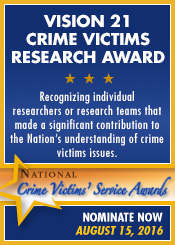 National Crime Victims' Service Awards